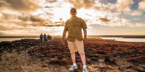 Atardecer en las Islas Galápagos