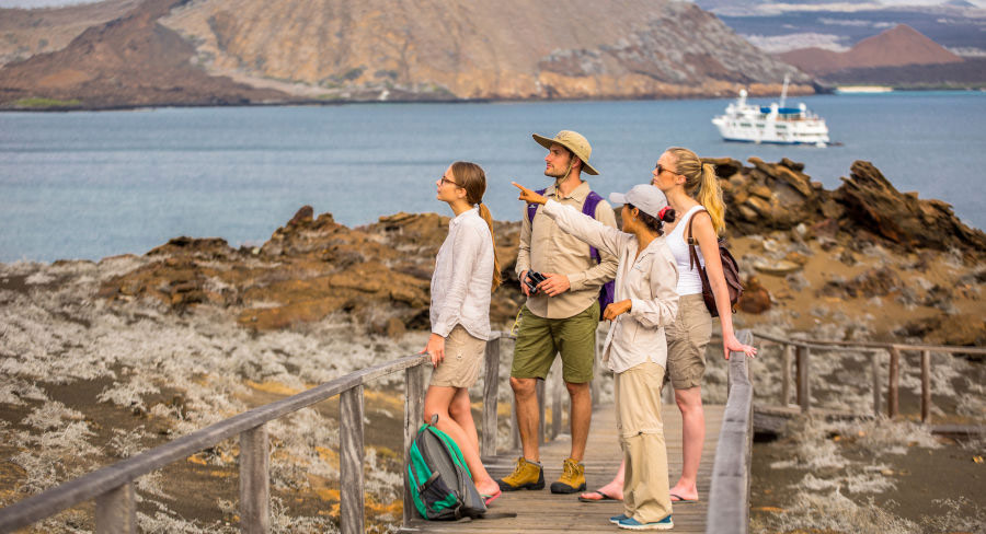 Sightseeing Isabela Island with Naturalist guides