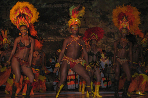 Aboriginal dance, Colombia