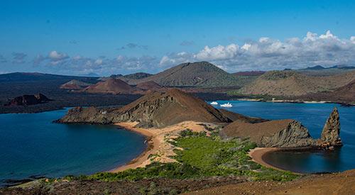 Bartolome Island in Galapagos, Ecuador
