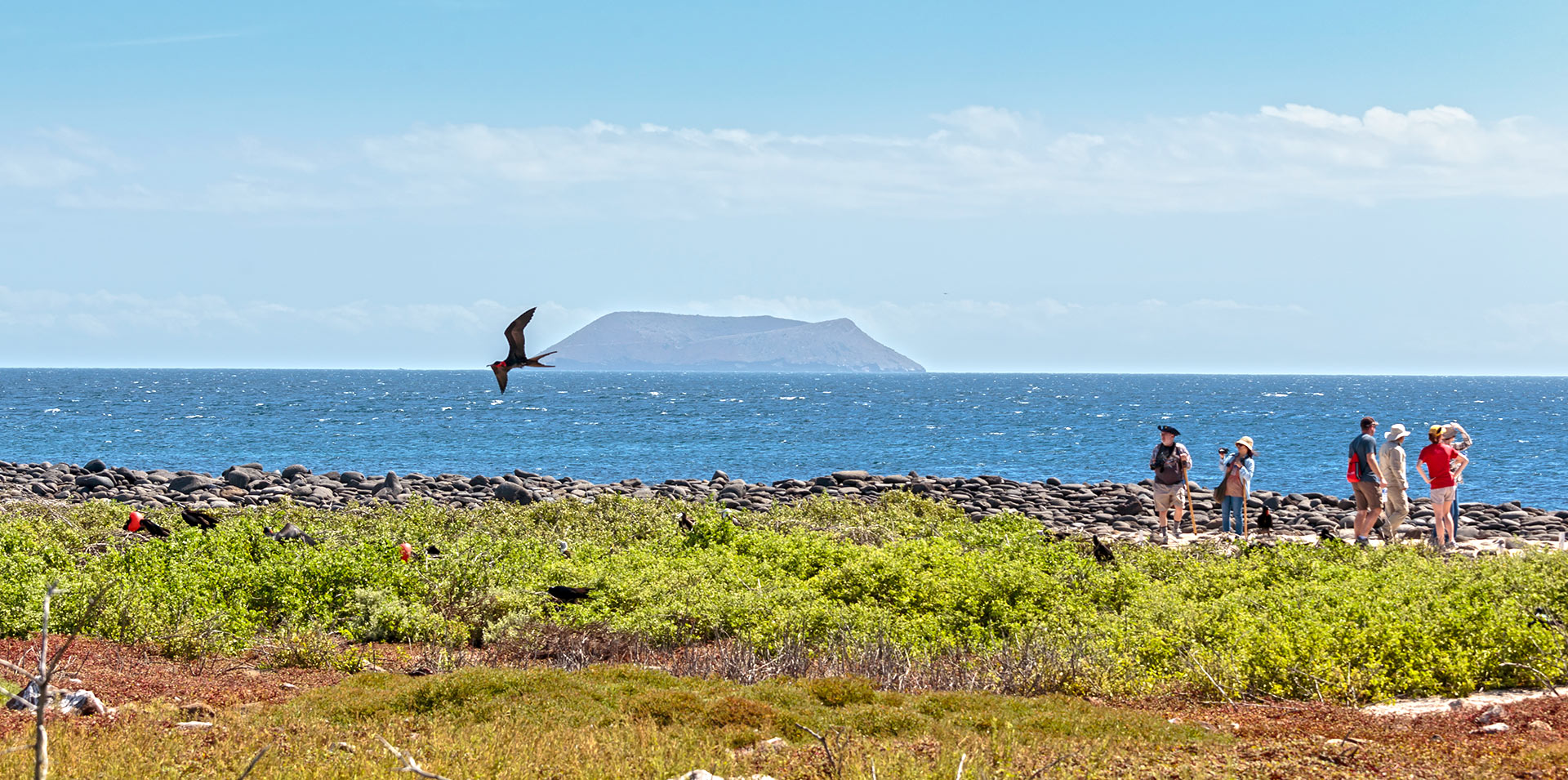 Travelers in the Galapagos Islands, Coronavirus tips travel