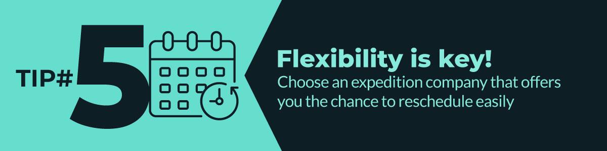 Flexibility is key! coronavirus tip 5 travel and coronavirus