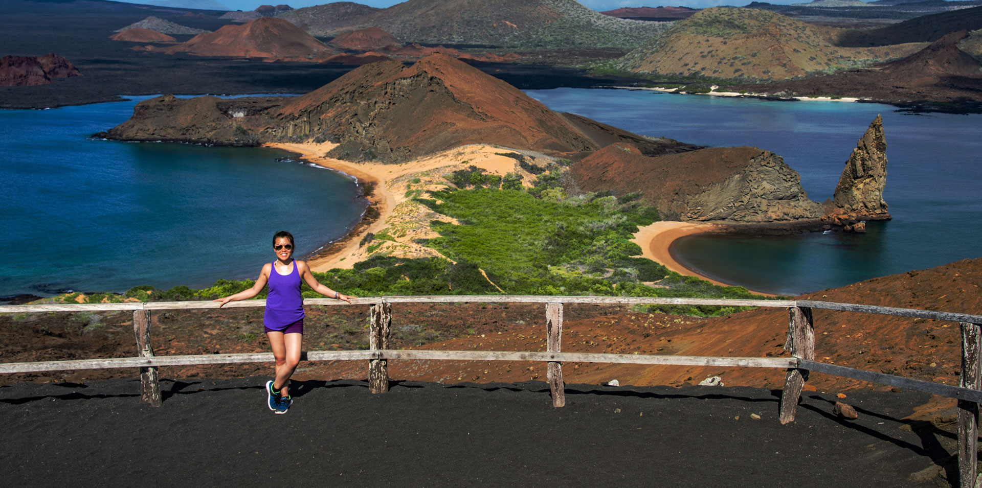 Bartolome, in the Galapagos Islands, is one of the top secluded destinations in the world