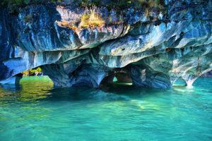 Destinos ocultos en Sudamérica: Cuevas de Mármol, Chile