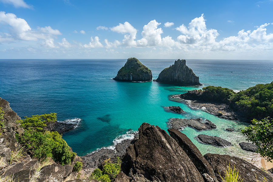 Top 15 Best New Hidden Gems in South America for 2021: Fernando Noronha Marine National Park in Brazil