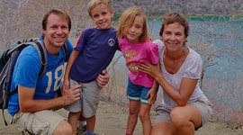 Journeys with family to south america